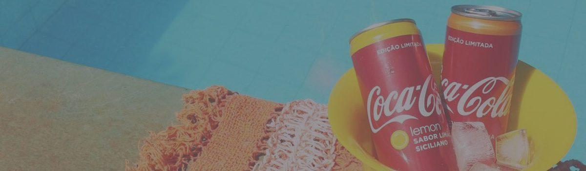 Coca Cola || Coca-Cola Lemon