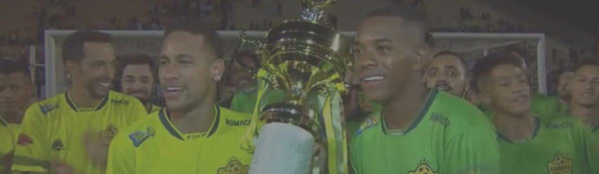 Facebook || Ousadia VS Pedalada (Neymar VS Robinho)